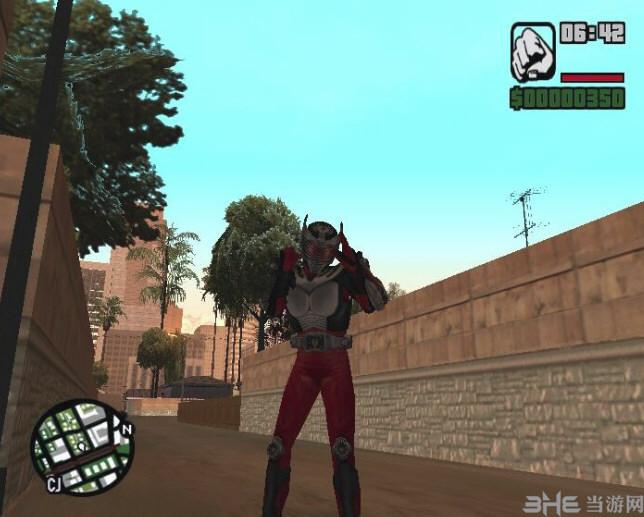 侠盗猎车手:圣安地列斯假面骑士龙骑技能MOD截图0