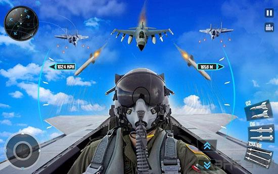 喷气式战斗机3D截图0