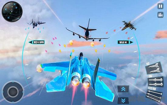 喷气式战斗机3D截图1