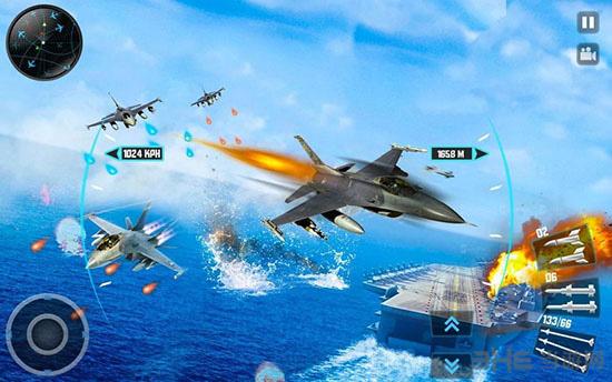 喷气式战斗机3D截图2