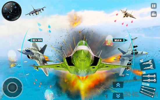 喷气式战斗机3D截图3