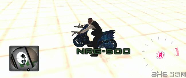 侠盗猎车手:圣安地列斯星空鬼火摩托车MOD截图0
