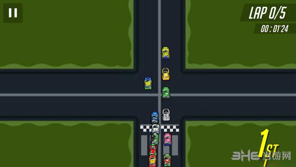 超级GTR赛车截图0