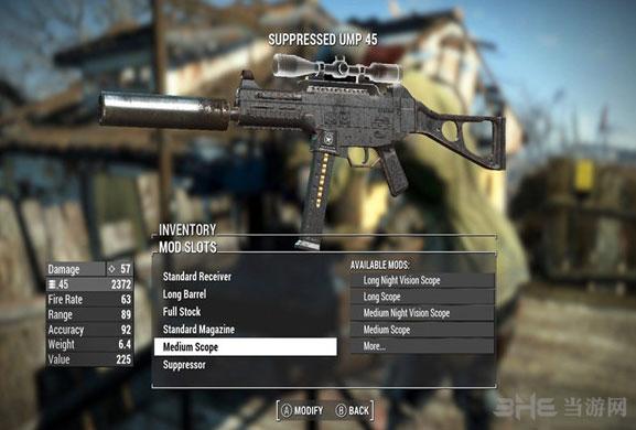 辐射4 UMP45冲锋枪截图0