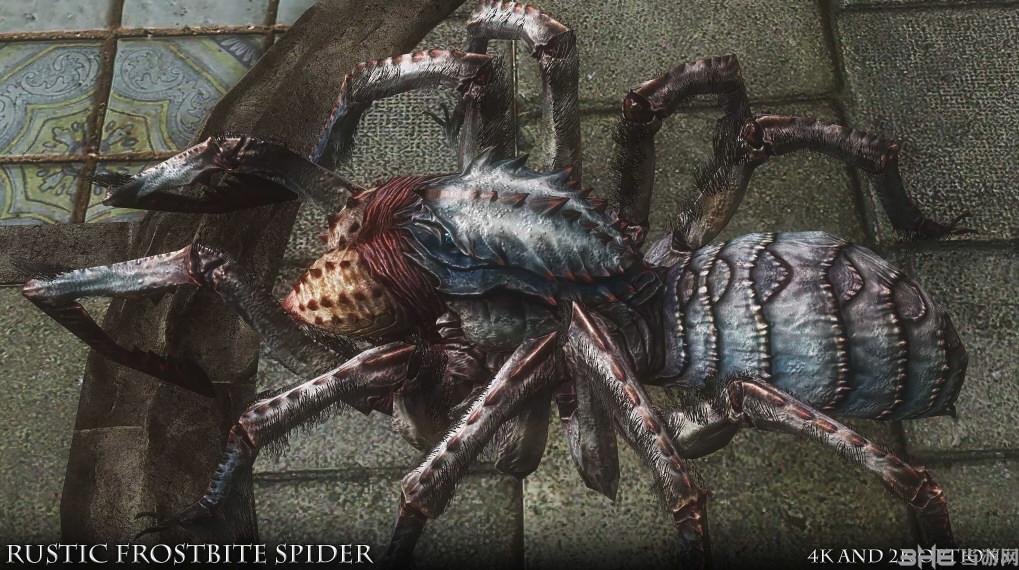 上古卷轴5:天际重制版寒霜蜘蛛高清材质MOD截图5