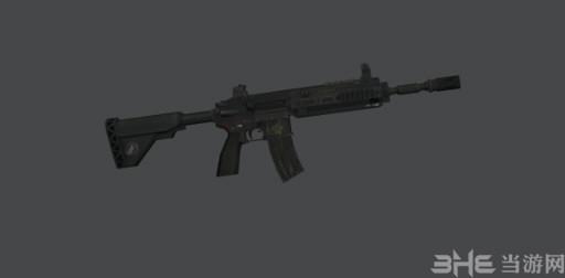 侠盗猎车手圣安地列斯使命召唤9M27步枪MOD截图0