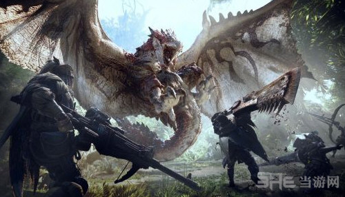 怪物猎人世界截图