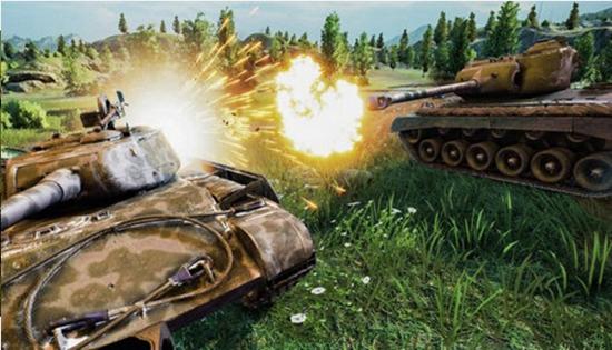 坦克射击战场截图0