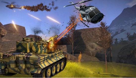 坦克射击战场截图1