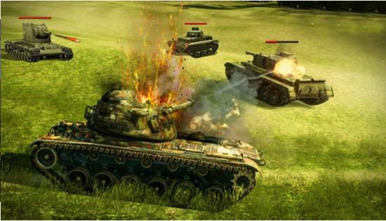 坦克射击战场截图2