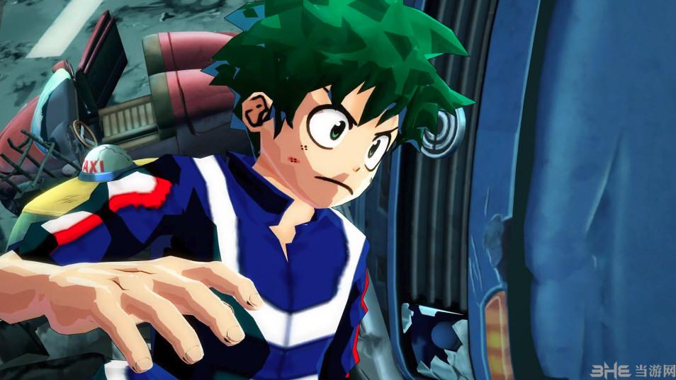 龙珠斗士Z我的英雄学院绿久MOD截图0