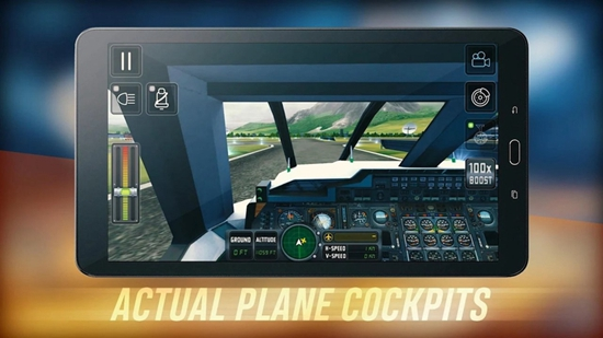 飞行模拟2018破解版截图2