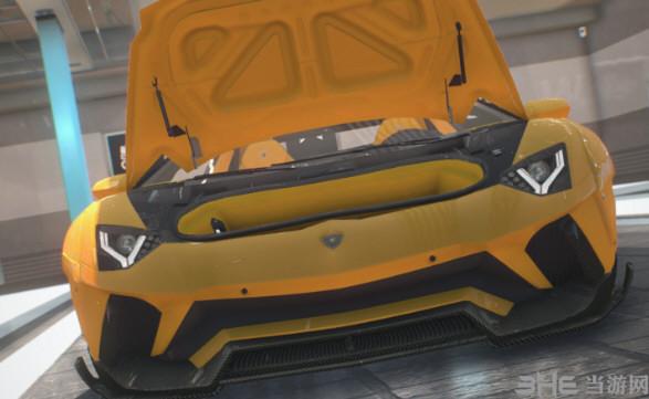 侠盗猎车手4 2018款兰博基尼AventadorS跑车MOD截图6