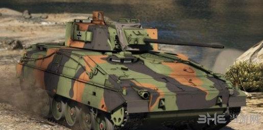 侠盗猎车手5德国黄鼠狼2号步兵战车MOD截图0