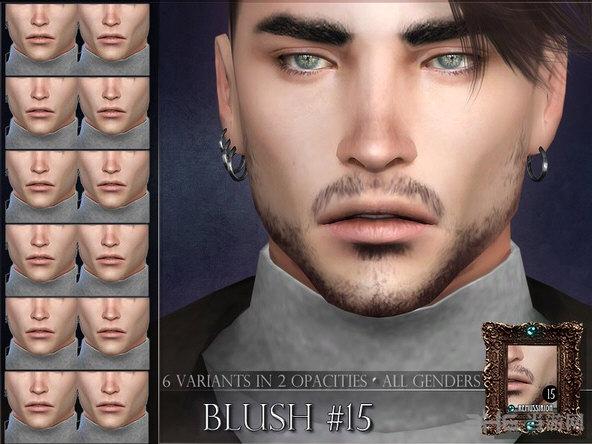 模拟人生4帅气男性腮红MOD截图0