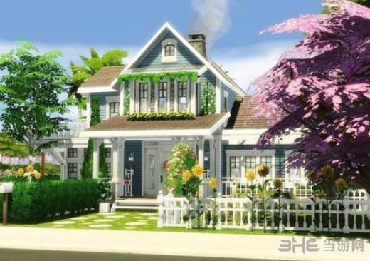 模拟人生4浪漫的角落别墅MOD截图0