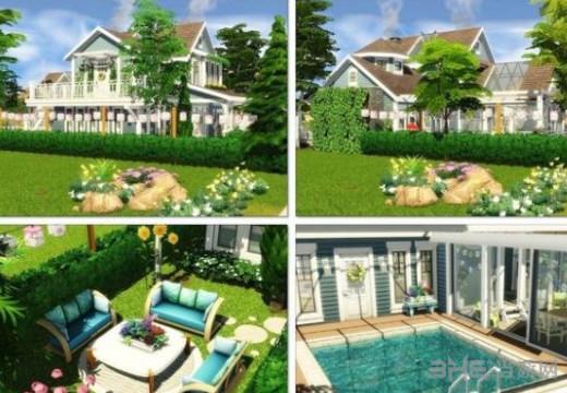 模拟人生4浪漫的角落别墅MOD截图1