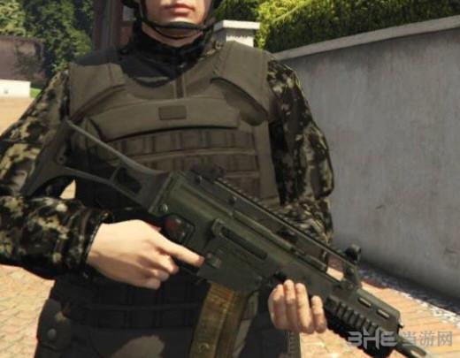 侠盗猎车手5HK G36C突击步枪MOD截图0