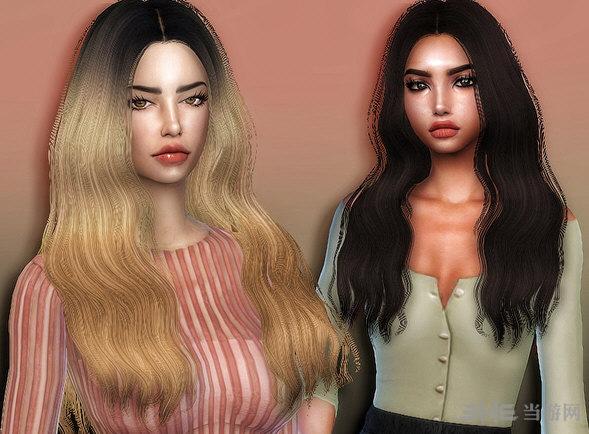 模拟人生4简单头发重新处理发型MOD截图0