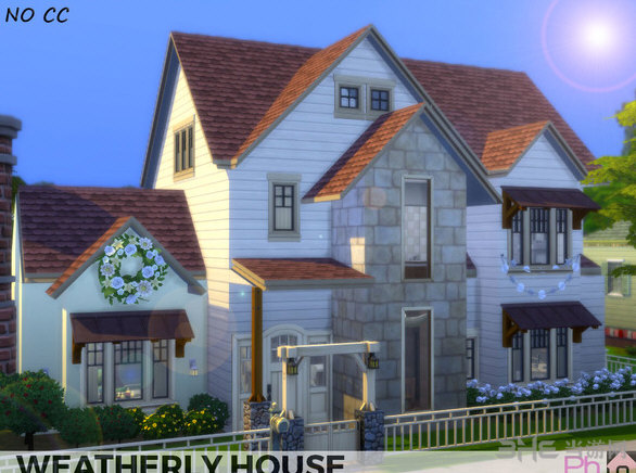 模拟人生4韦瑟利家庭住宅MOD截图0