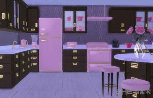 模拟人生4花俏童话般的厨房MOD截图0
