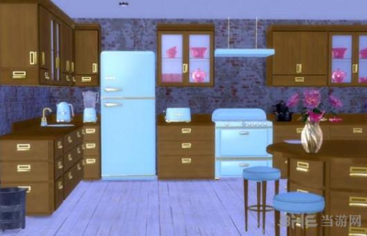 模拟人生4花俏童话般的厨房MOD截图1