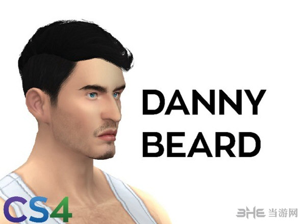 模拟人生4CS4丹尼胡子MOD截图0