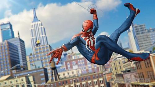 PS4蜘蛛侠游戏截图2