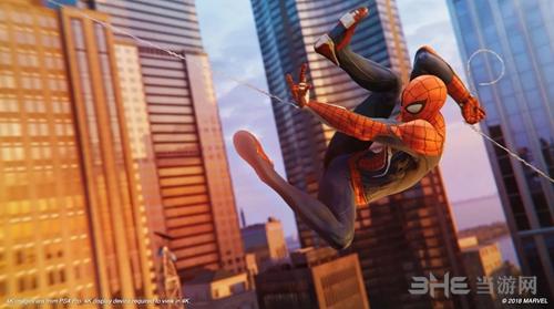 PS4蜘蛛侠游戏截图4
