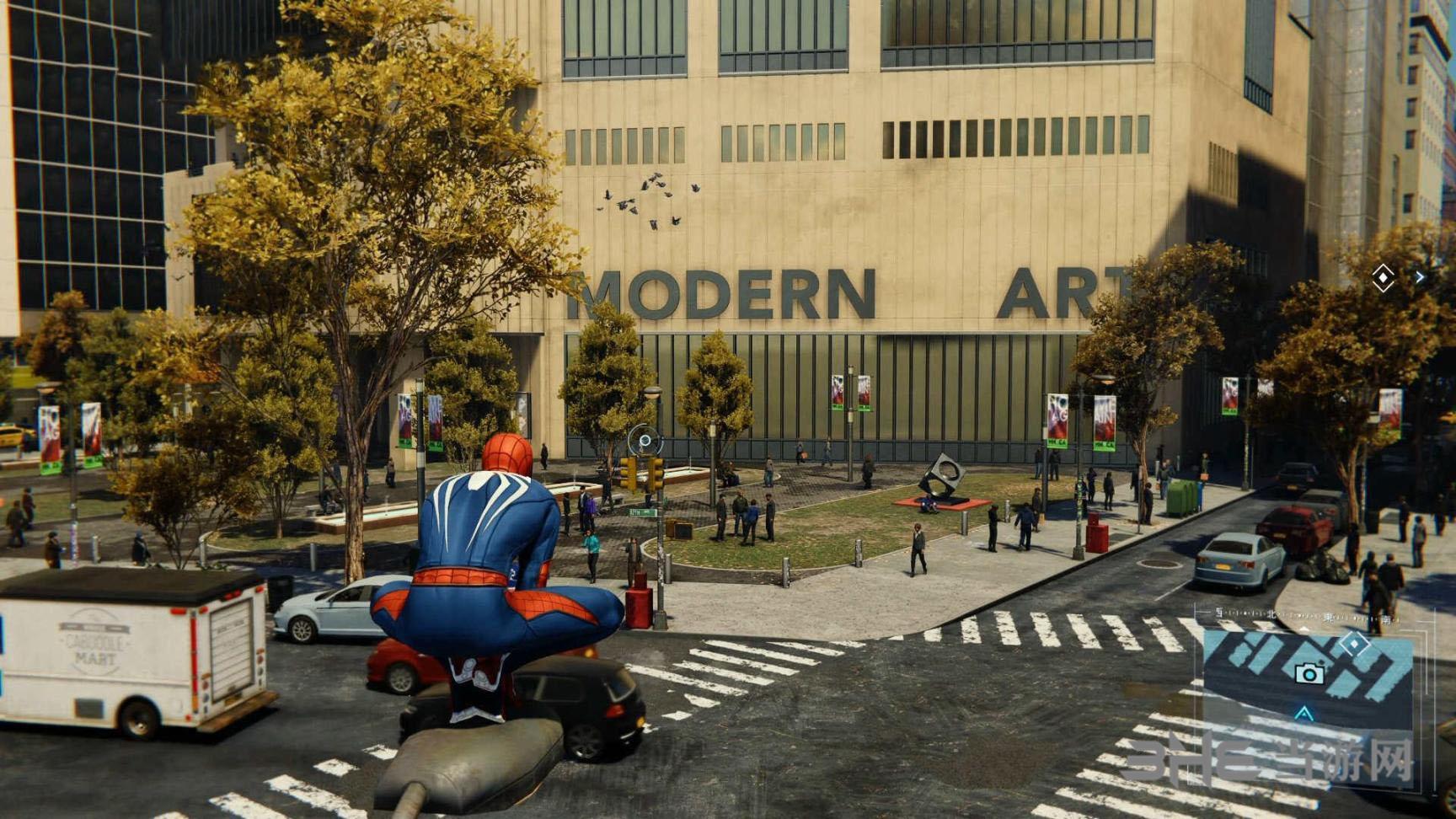 PS4蜘蛛侠游戏截图5