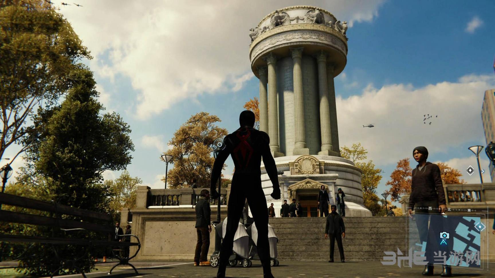 PS4蜘蛛侠游戏截图1