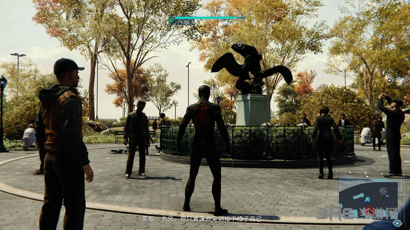 PS4蜘蛛侠游戏截图3
