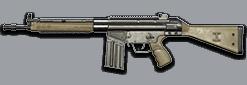 G3A3自动步枪