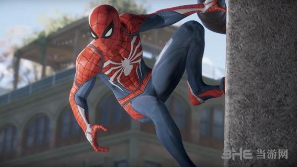 漫威蜘蛛侠游戏截图