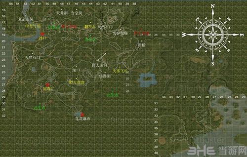 绿色地狱地图点位
