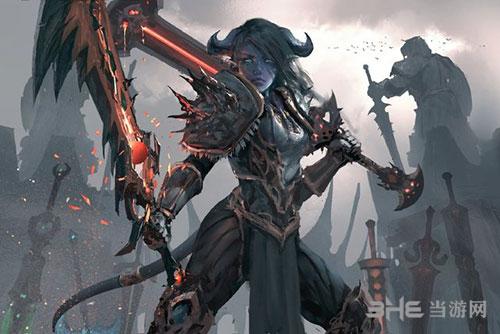 魔兽世界战士游戏图片