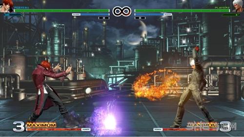 拳皇14游戏画面