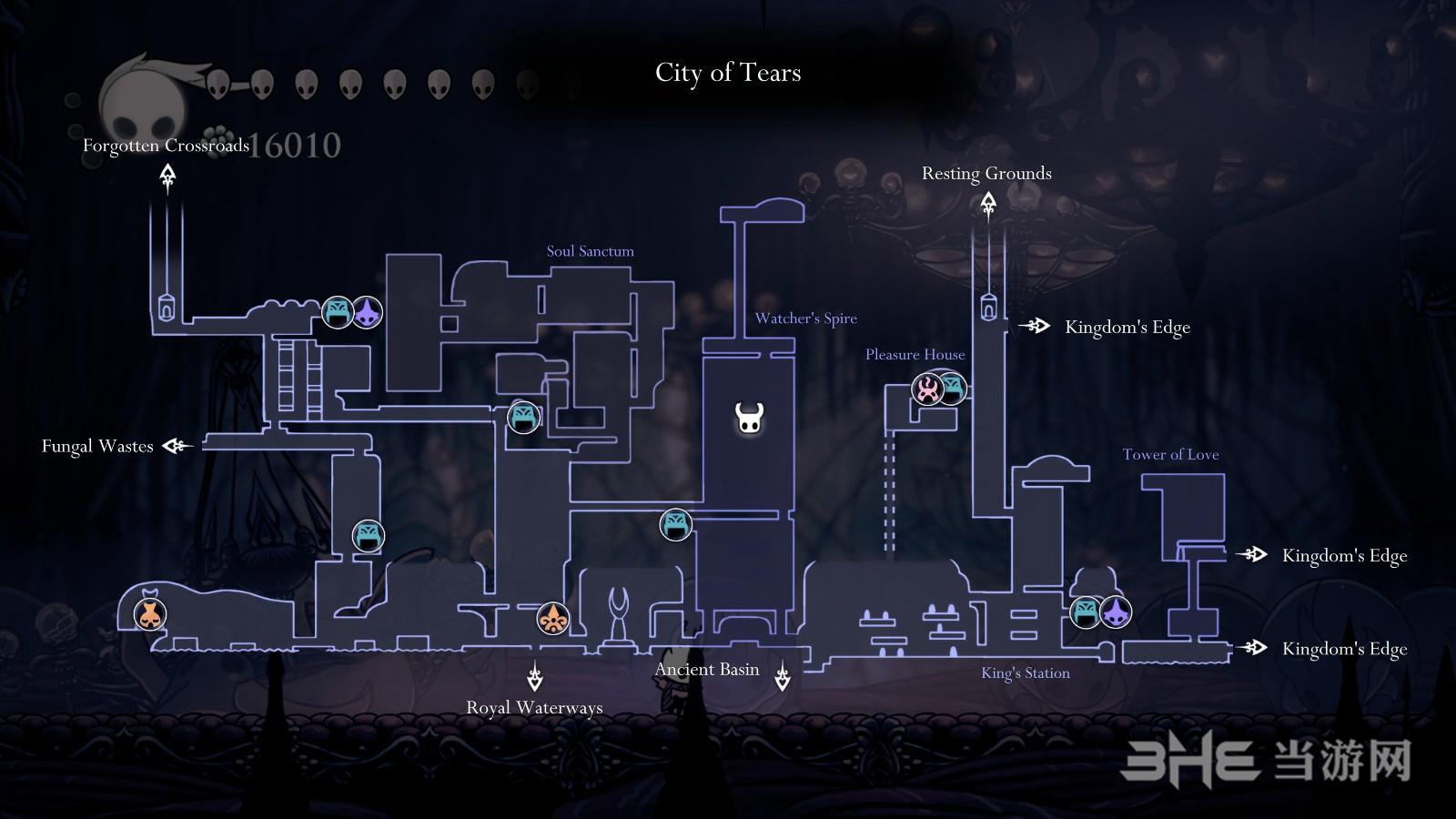 空洞骑士地图