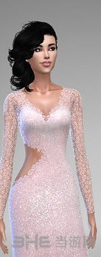 模拟人生4美丽花边长裙MOD截图0