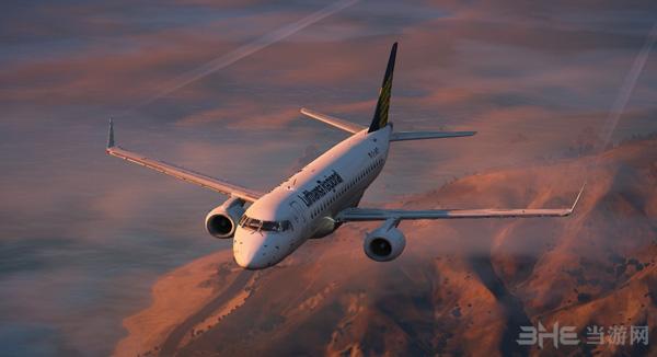 侠盗猎车手5巴西E190客机MOD截图4