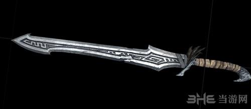 上古卷轴5天际新的诺德之剑MOD截图0