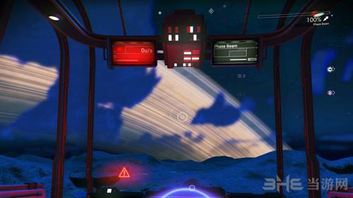 无人深空飞船在行星大气层悬停MOD截图0