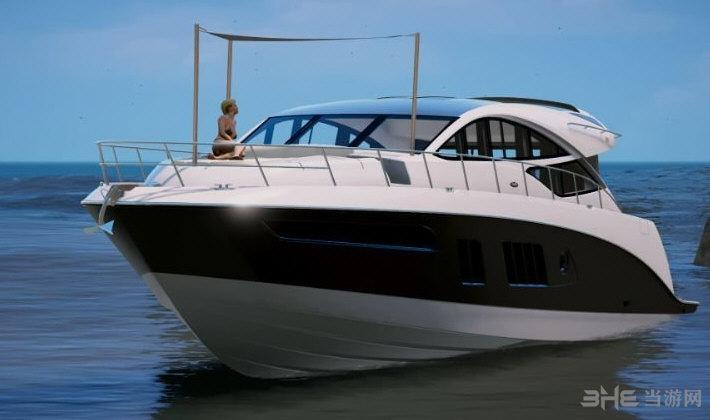 侠盗猎车手5Sea Ray L650express游艇MOD截图0