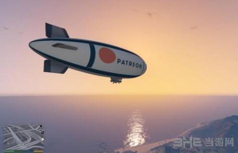 侠盗猎车手5Patreon图案飞艇MOD截图2
