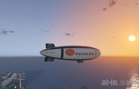 侠盗猎车手5Patreon图案飞艇MOD截图3