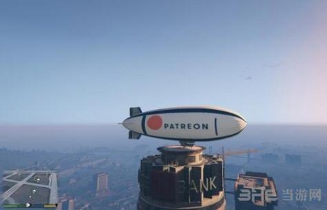 侠盗猎车手5Patreon图案飞艇MOD截图1