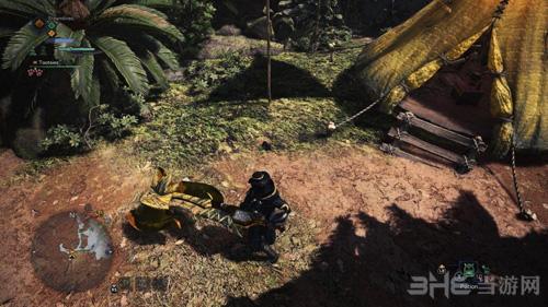 怪物猎人世界金色斩击斧MOD截图0