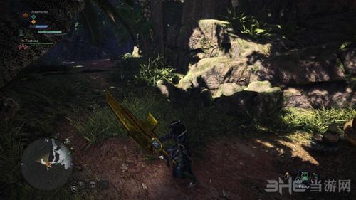怪物猎人世界金色斩击斧MOD截图2