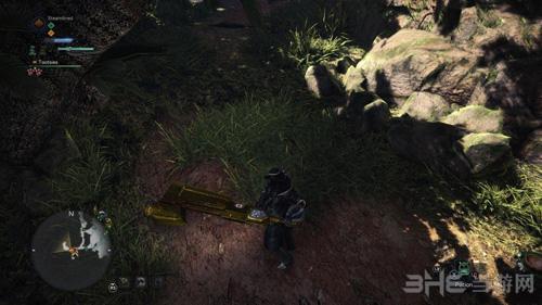 怪物猎人世界金色斩击斧MOD截图3