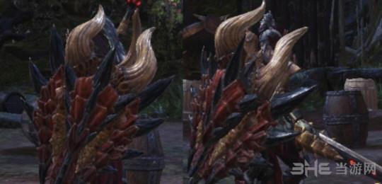 怪物猎人世界角龙盾斧自制外观MOD截图0